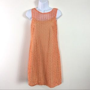 MUSE CROCHET SHIFT DRESS